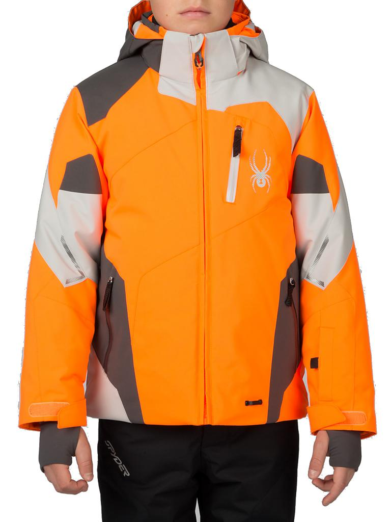 SPYDER | Kinder Skijacke | orange