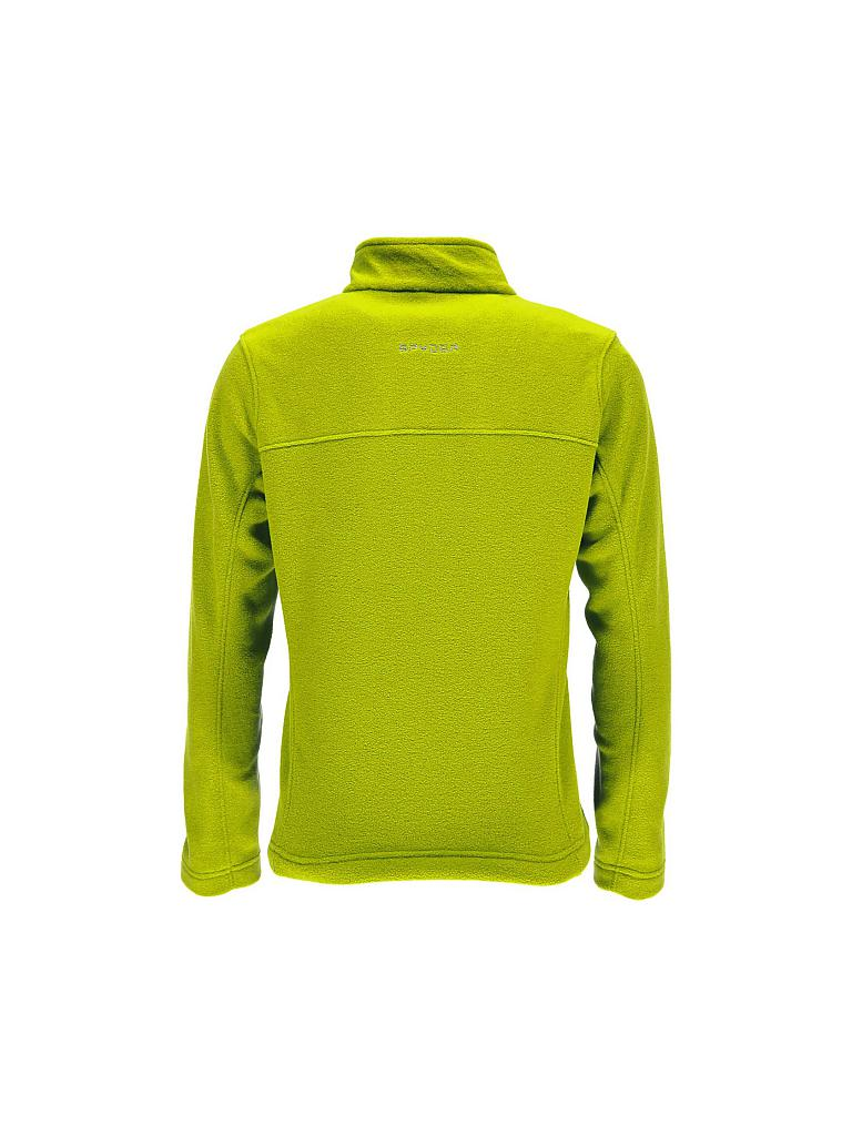 SPYDER | Kinder Unterzieher Fleece Speed Girl | gelb