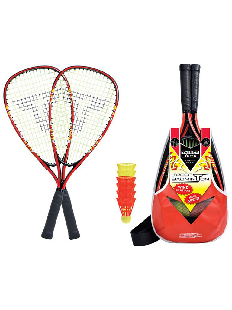 TALBOT TORRO | Speedminton-Set Speed 5000 | rot