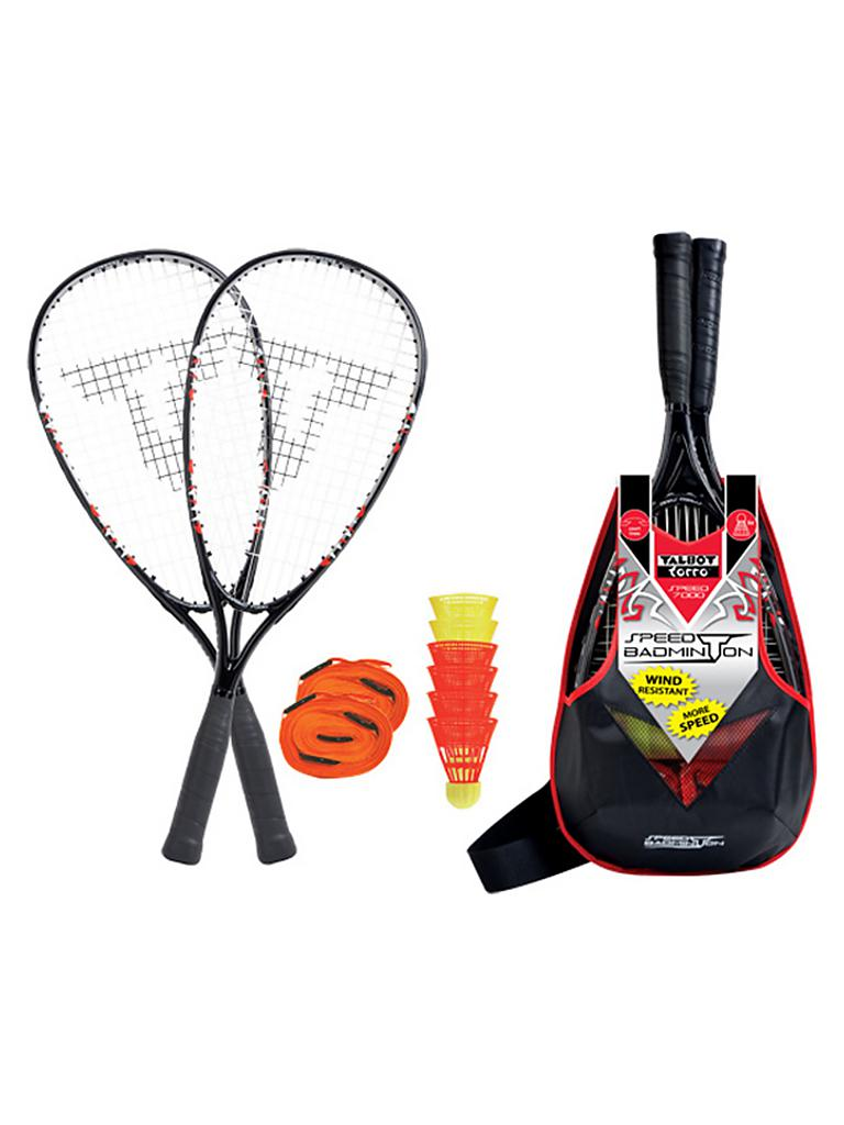 TALBOT TORRO | Speedminton-Set Speed 7000 | schwarz
