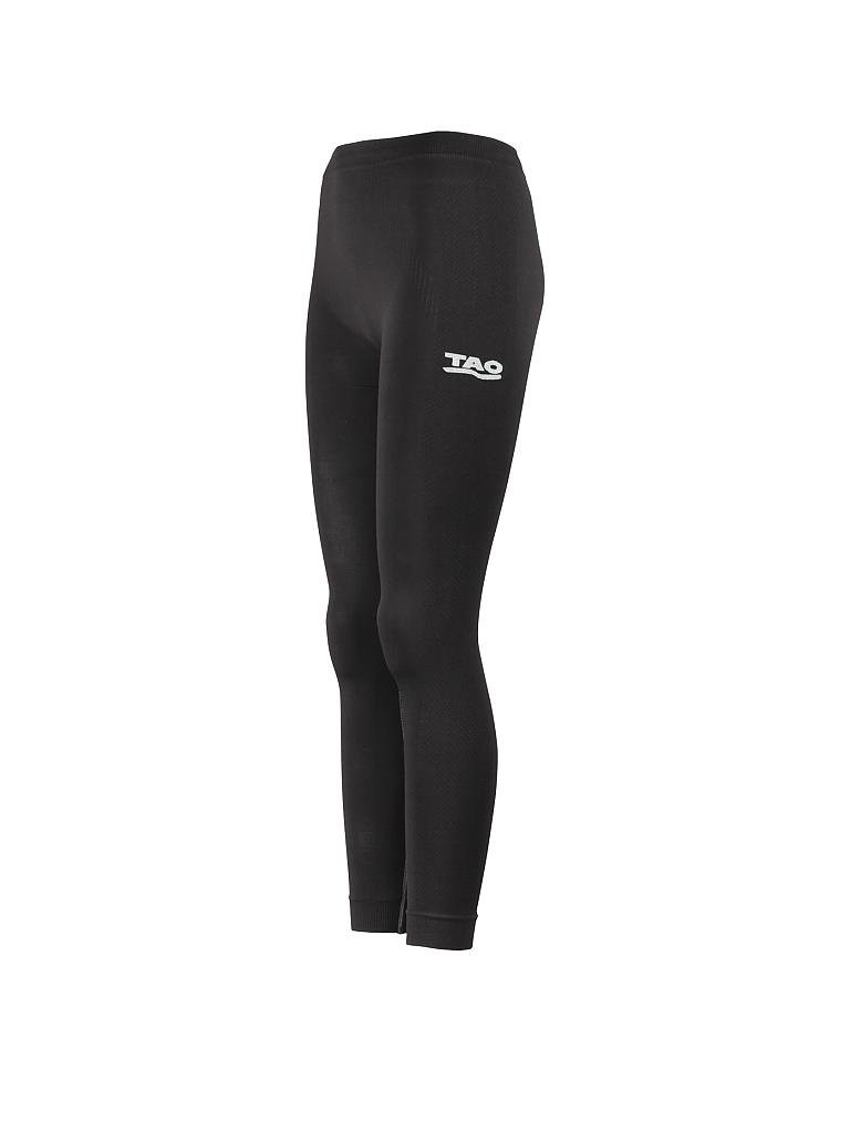 TAO | Damen Tight DRY Long UNDERWEAR | schwarz