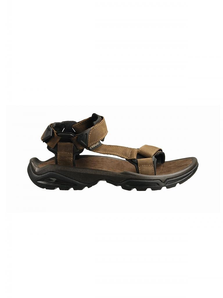 TEVA | Herren Outdoorsandale Terra FI 4 Leather | braun