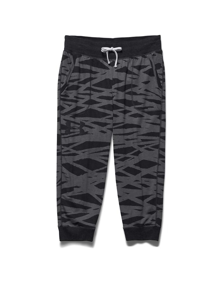 UNDER ARMOUR | Damen Fitness-Capri Triblend | schwarz