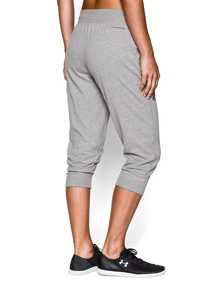 UNDER ARMOUR | Damen Fitness-Hose Charged | grau
