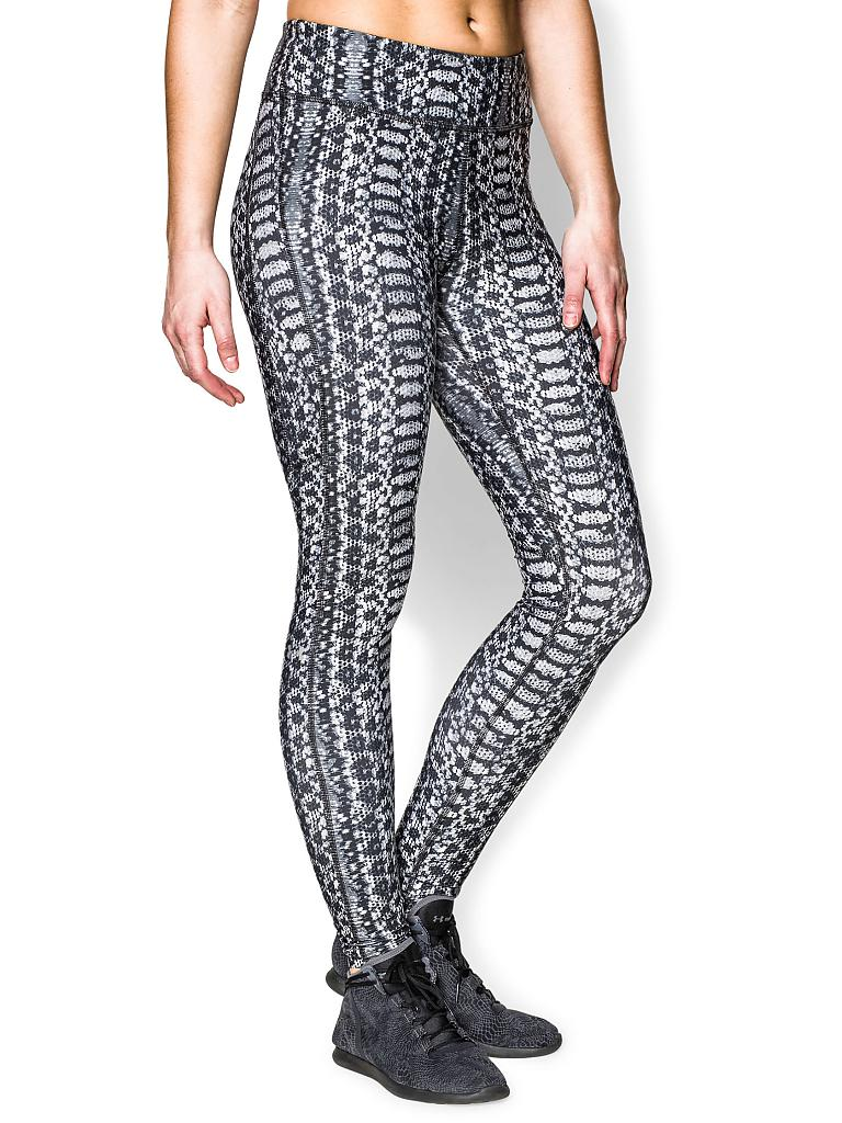 UNDER ARMOUR | Damen Fitness-Leggings Alpha | grau