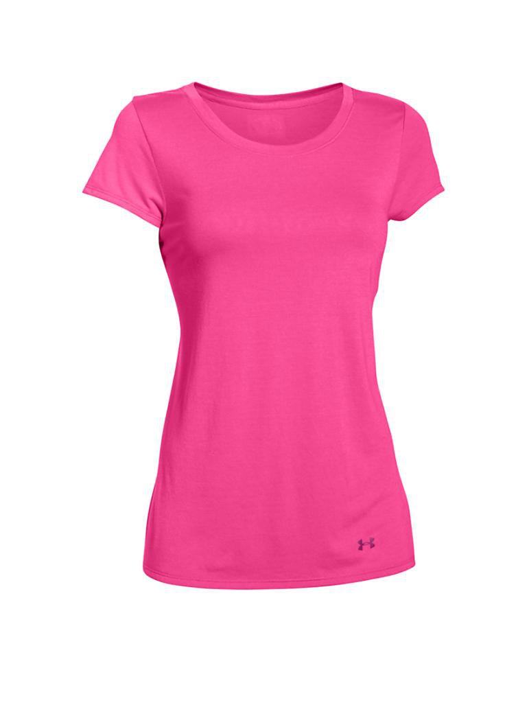 UNDER ARMOUR | Damen Fitness-Shirt Favorite | rosa