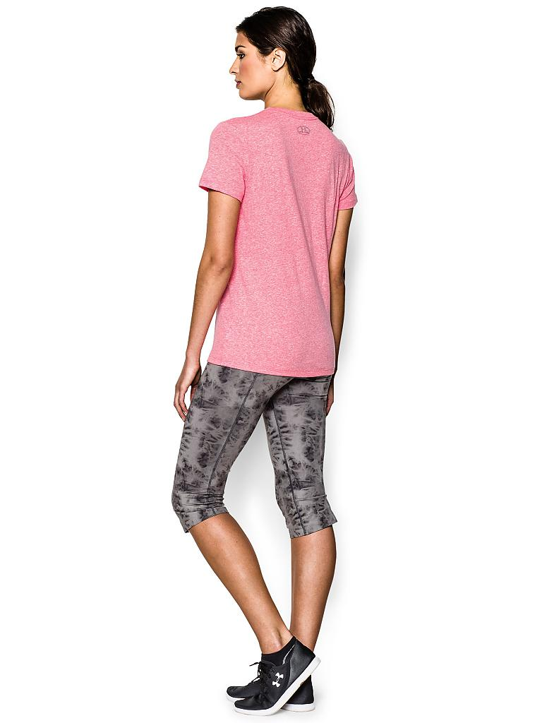 UNDER ARMOUR | Damen Fitness-Shirt Painted | rosa