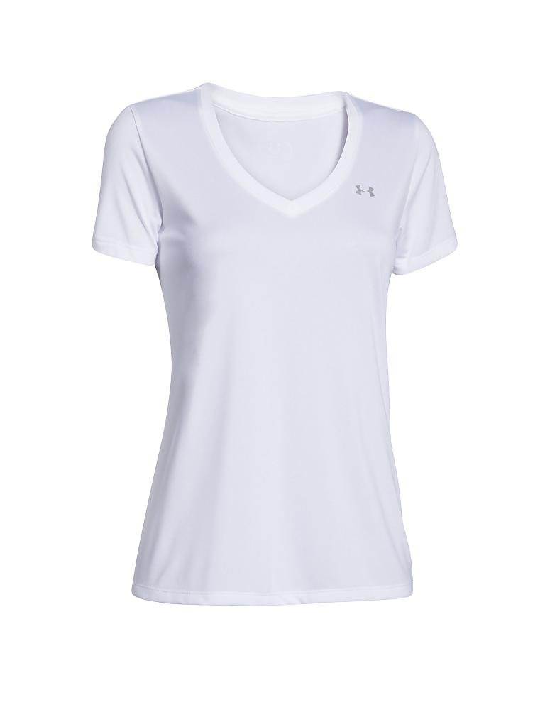 UNDER ARMOUR | Damen Fitness-Shirt | weiß