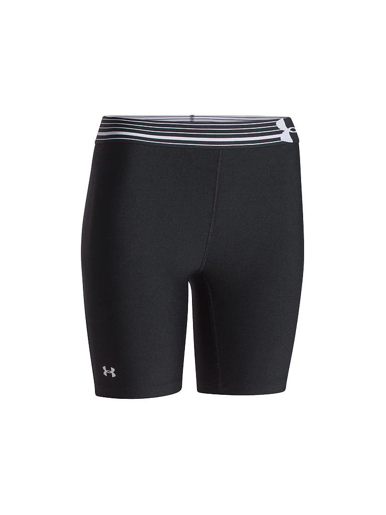 UNDER ARMOUR | Damen Fitness-Short Alpha Compression Long | schwarz