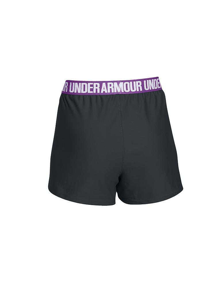 UNDER ARMOUR | Damen Fitness-Short Play up | grau