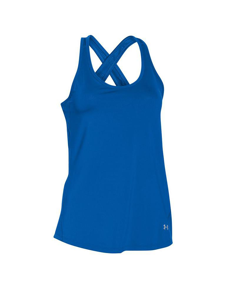 UNDER ARMOUR | Damen Fitness-Tanktop Coolswitch | blau