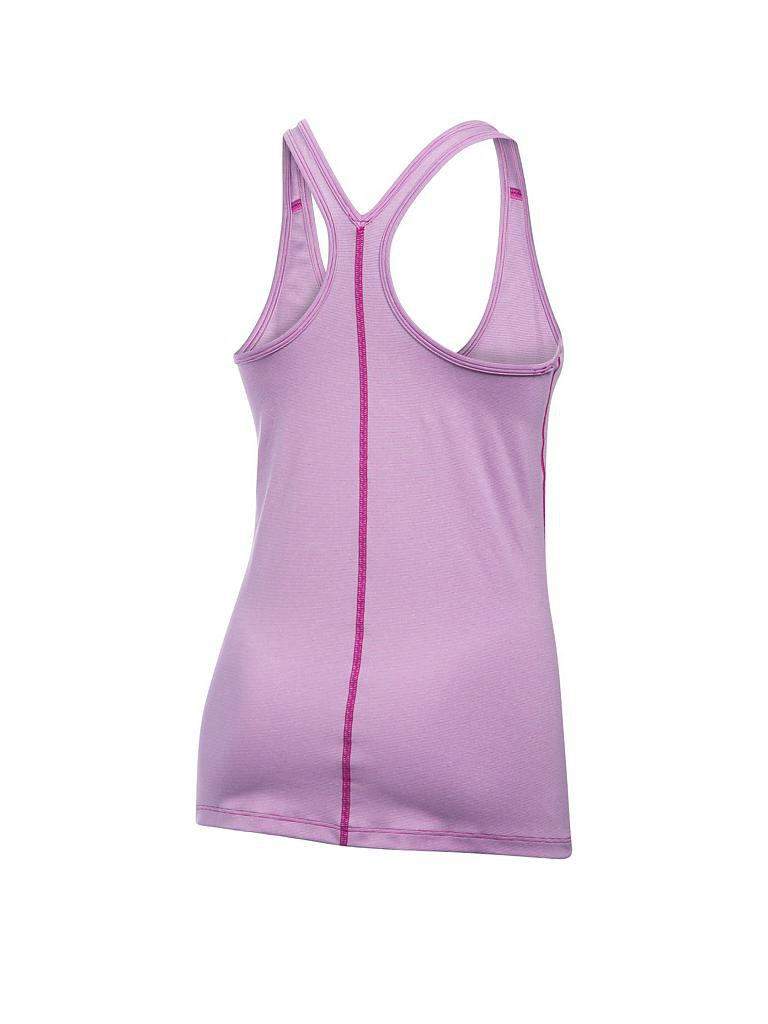 UNDER ARMOUR | Damen Fitness-Tanktop UA Armour Stripe Racer | lila