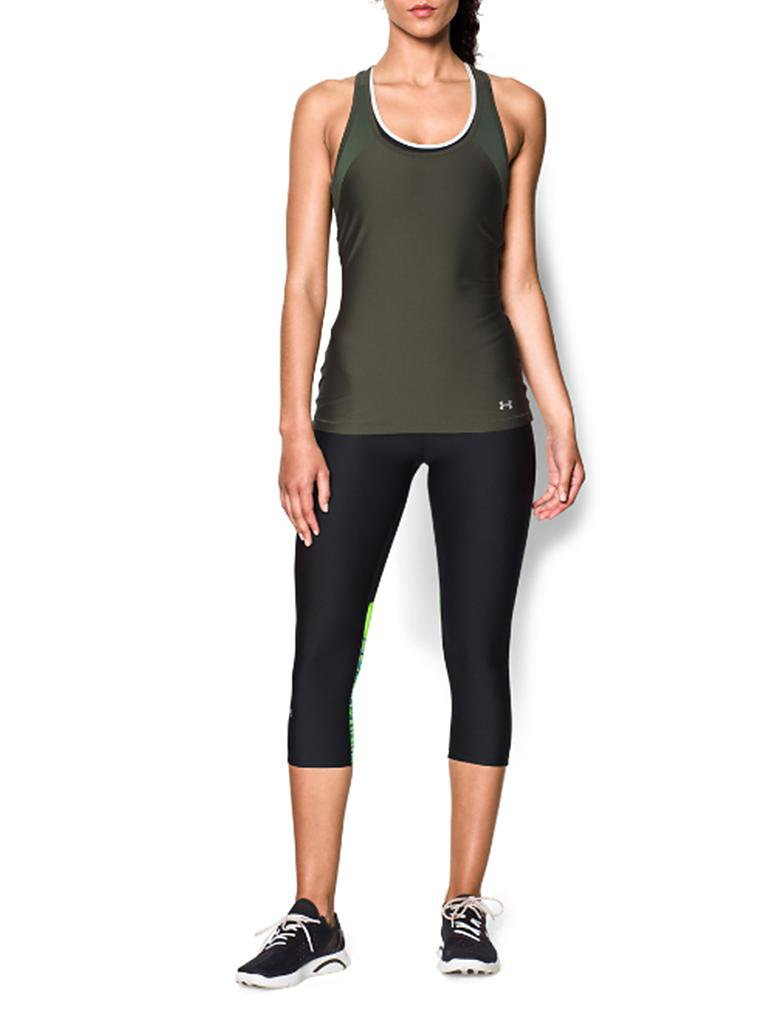 UNDER ARMOUR | Damen Fitness-Tanktop | olive