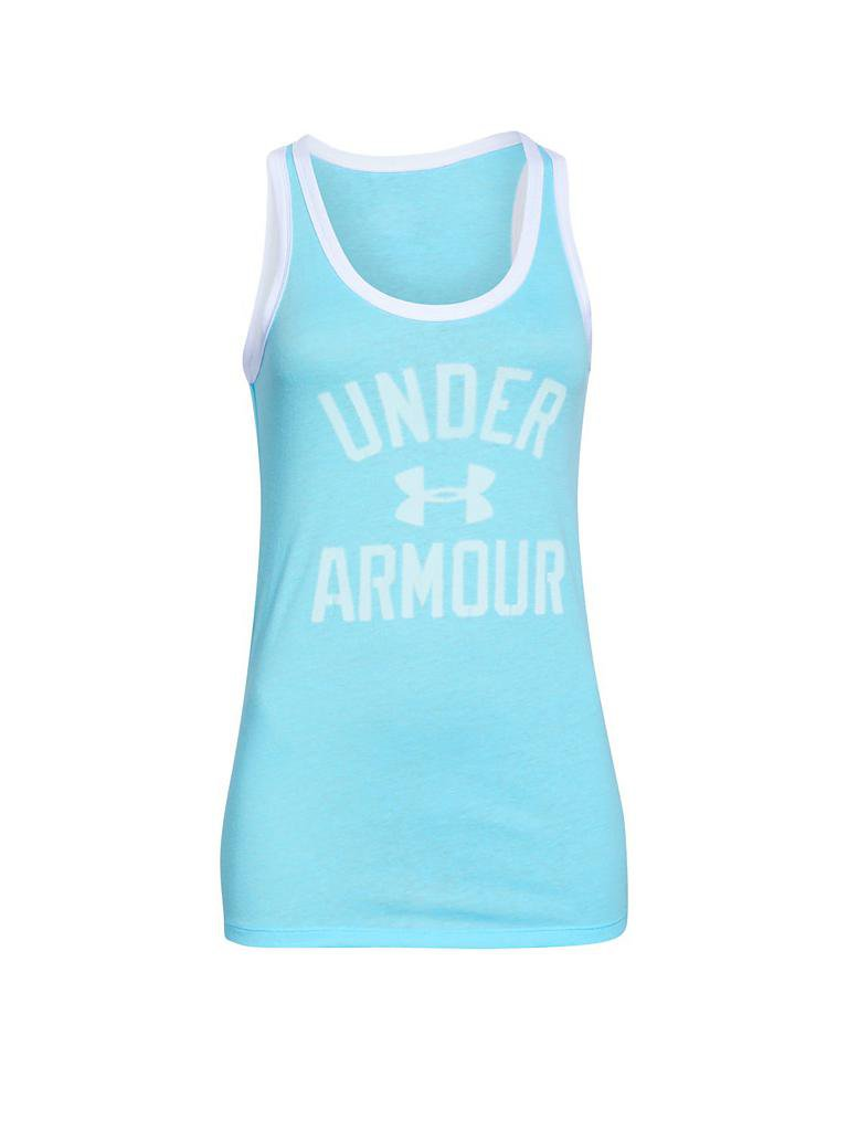 under armour damen fitness tanktop t rkis xs. Black Bedroom Furniture Sets. Home Design Ideas