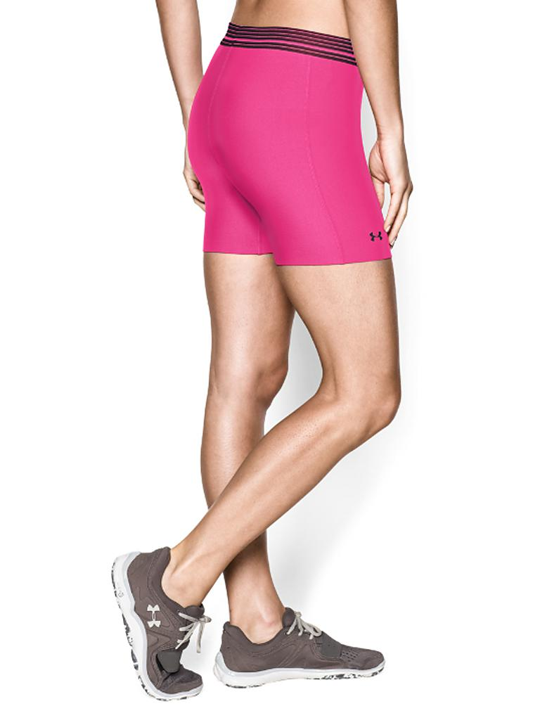 UNDER ARMOUR | Damen Fitness-Tightshort | rosa