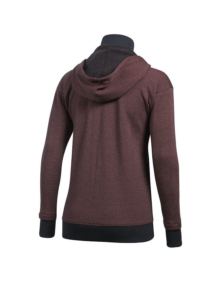 under armour damen fleece hoodie ua threadborne rot xs. Black Bedroom Furniture Sets. Home Design Ideas