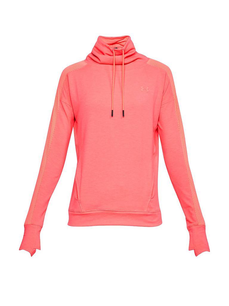 UNDER ARMOUR Damen Fleece-Pullover UA Feahtherweight orange   XS 30e871280d