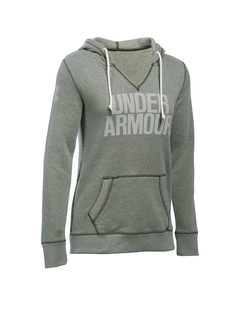under armour damen hoody favorite olive xs. Black Bedroom Furniture Sets. Home Design Ideas