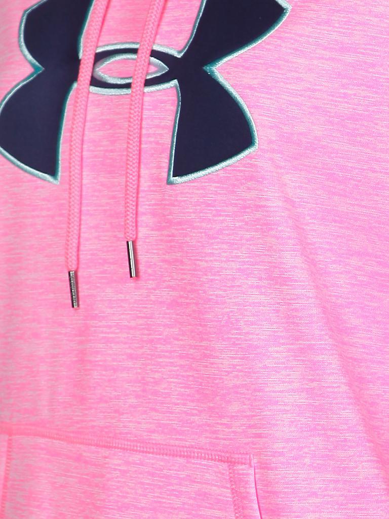 under armour damen kapuzensweater armour fleece storm rosa xs. Black Bedroom Furniture Sets. Home Design Ideas