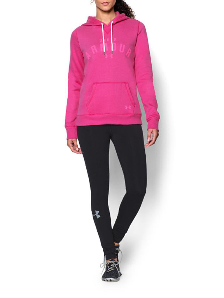 UNDER ARMOUR | Damen Kapuzensweater Charged CO Storm | rosa