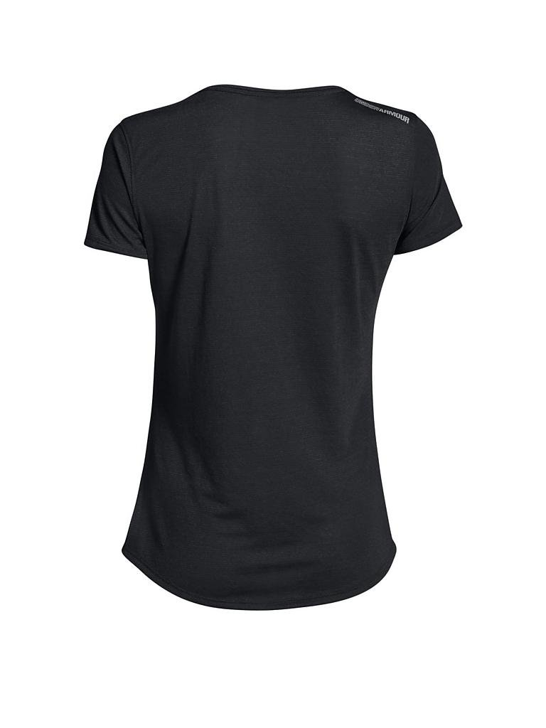 UNDER ARMOUR | Damen Laufshirt Streaker | schwarz