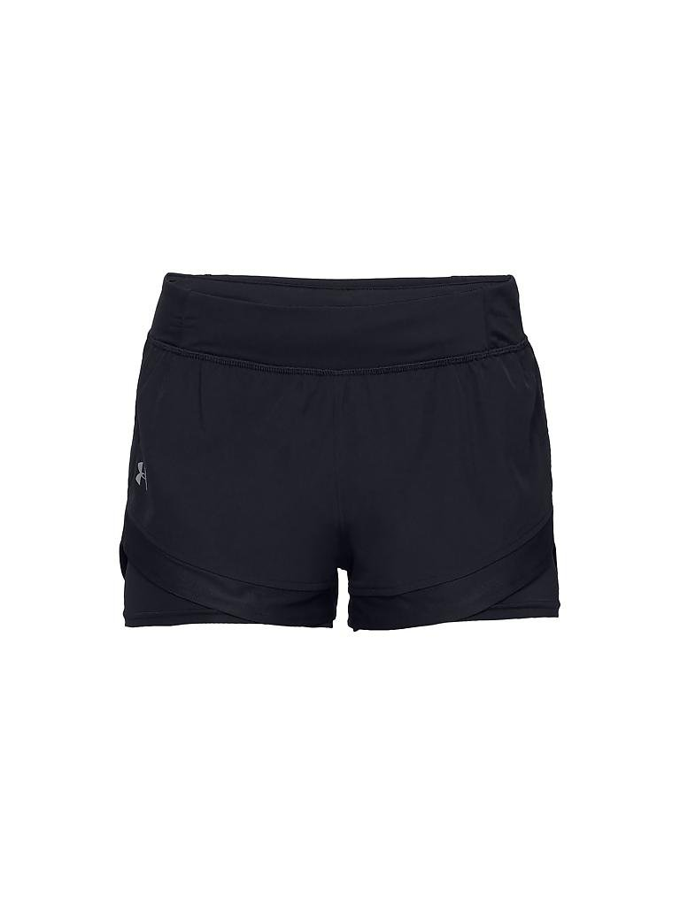 under armour damen short ua qualifier 2 in 1 shorts mit. Black Bedroom Furniture Sets. Home Design Ideas