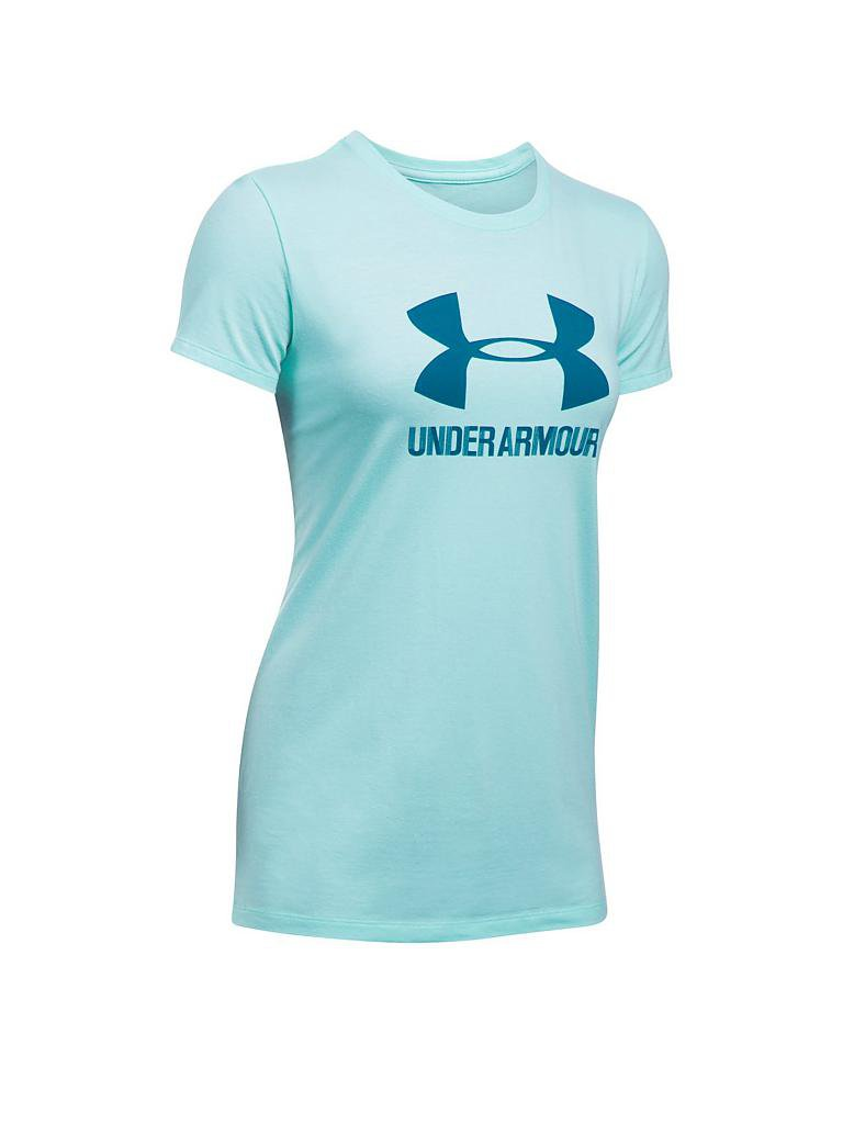 under armour damen t shirt ua sportstyle crew t rkis xs. Black Bedroom Furniture Sets. Home Design Ideas