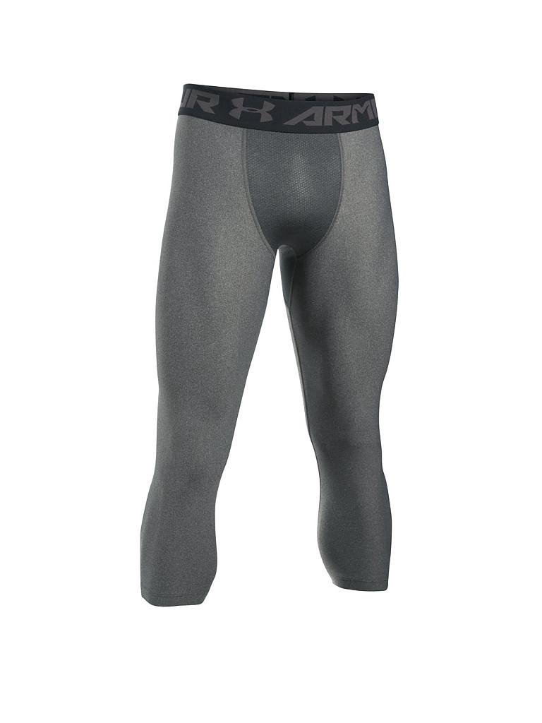 UNDER ARMOUR | Herren 3/4 Kompressions-Leggings UA HeatGear® Armour | grau