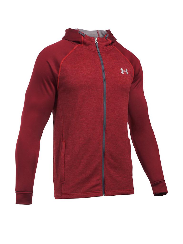 under armour herren fitness kapuzenjacke ua terry rot sm. Black Bedroom Furniture Sets. Home Design Ideas