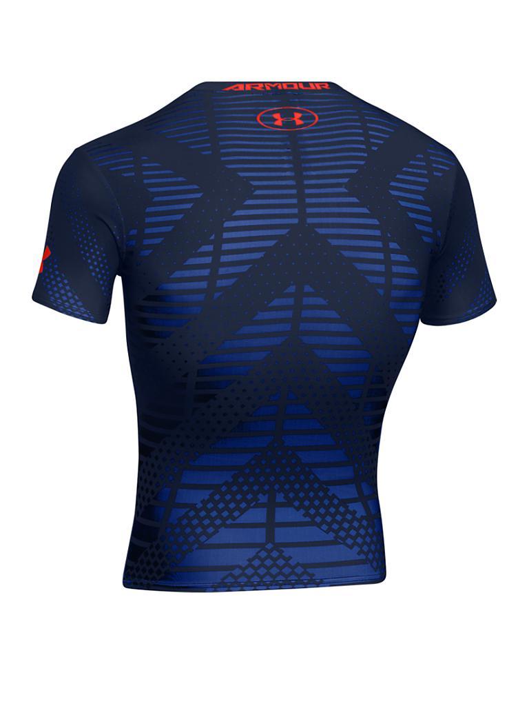 under armour herren fitness shirt alter ego lion blau s. Black Bedroom Furniture Sets. Home Design Ideas