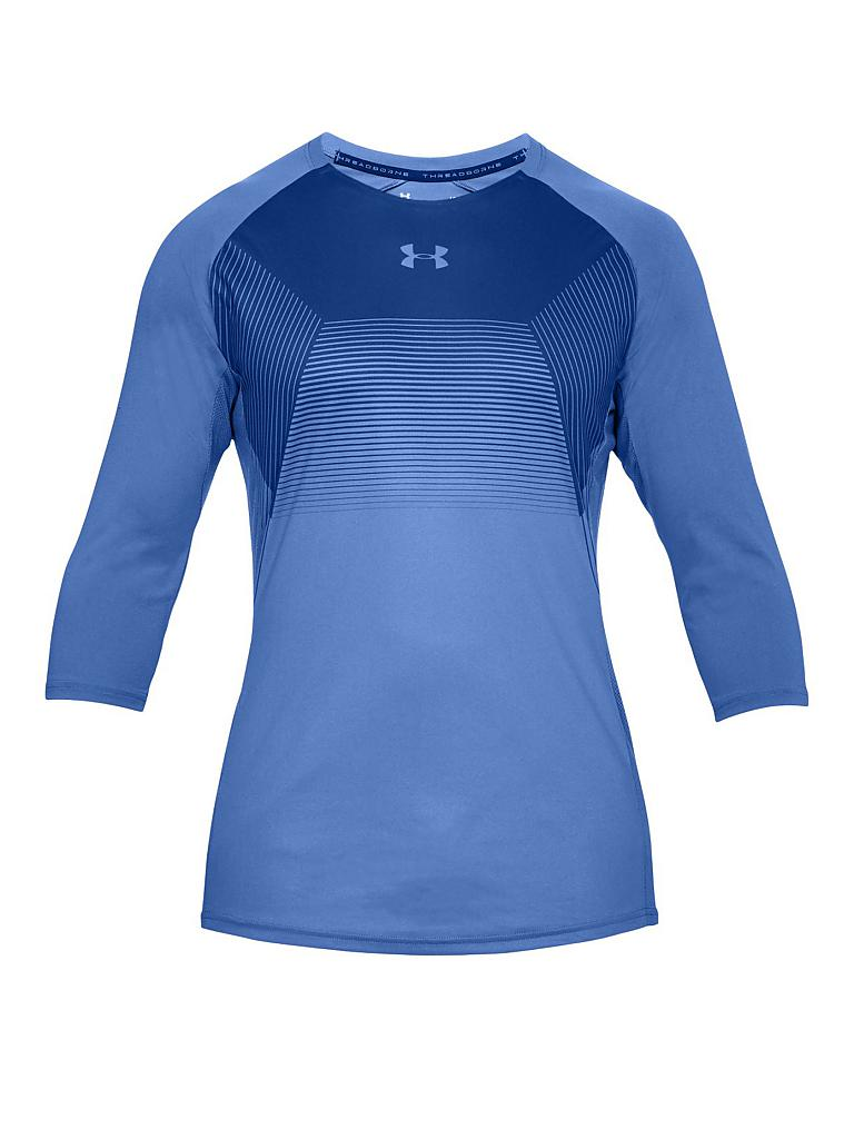 under armour herren fitness shirt ua vanish blau s. Black Bedroom Furniture Sets. Home Design Ideas