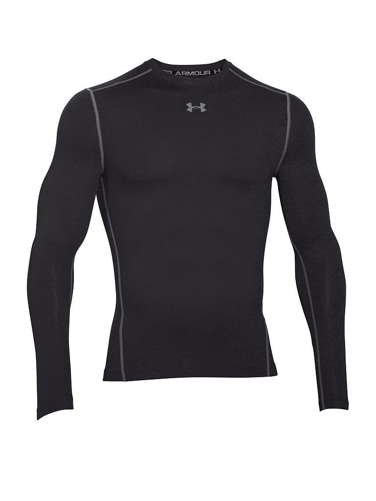 UNDER ARMOUR | Herren Fußball Kompressions-Shirt ColdGear® Armour | schwarz