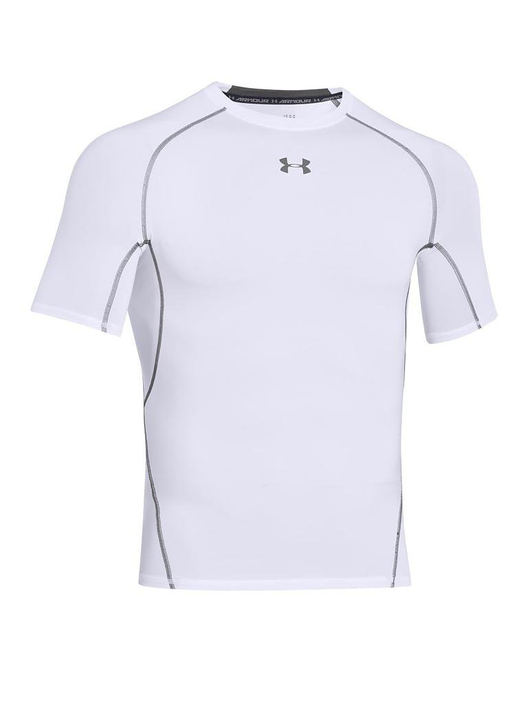 UNDER ARMOUR | Herren Fußball Kompressions-Shirt HeatGear® Armour | weiß