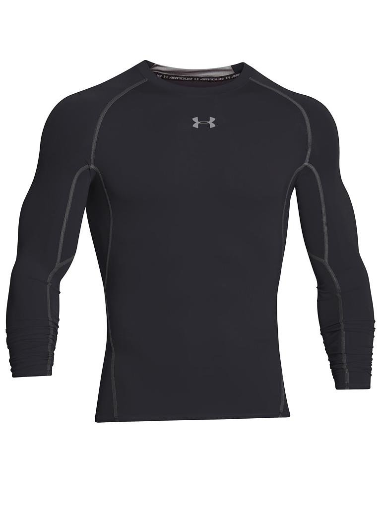 UNDER ARMOUR | Herren Kompressions-Shirt UA HeatGear® Armour | schwarz