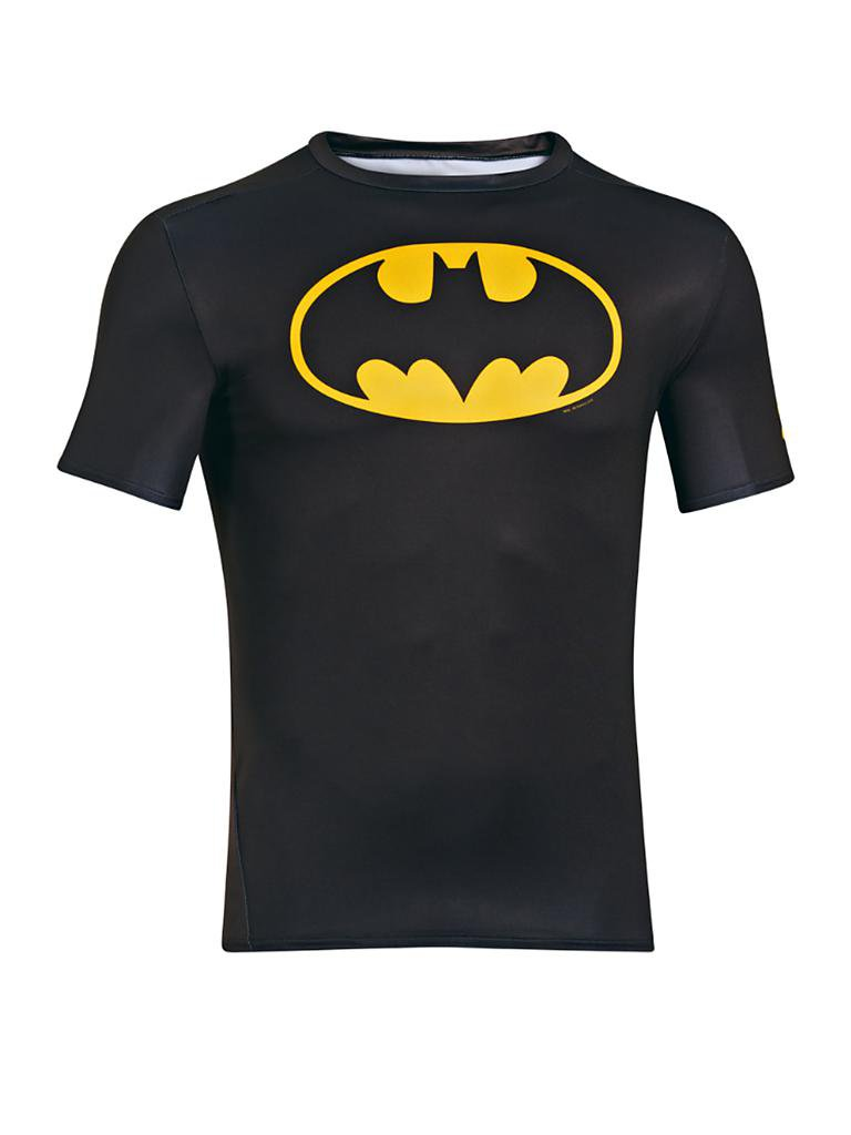 UNDER ARMOUR | Herren Kompressionsshirt Batman | schwarz