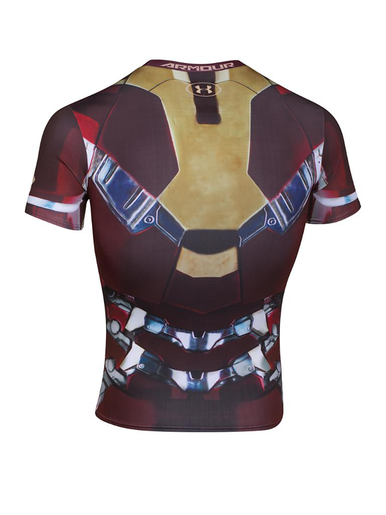 UNDER ARMOUR | Herren Kompressionsshirt Ironman | bunt