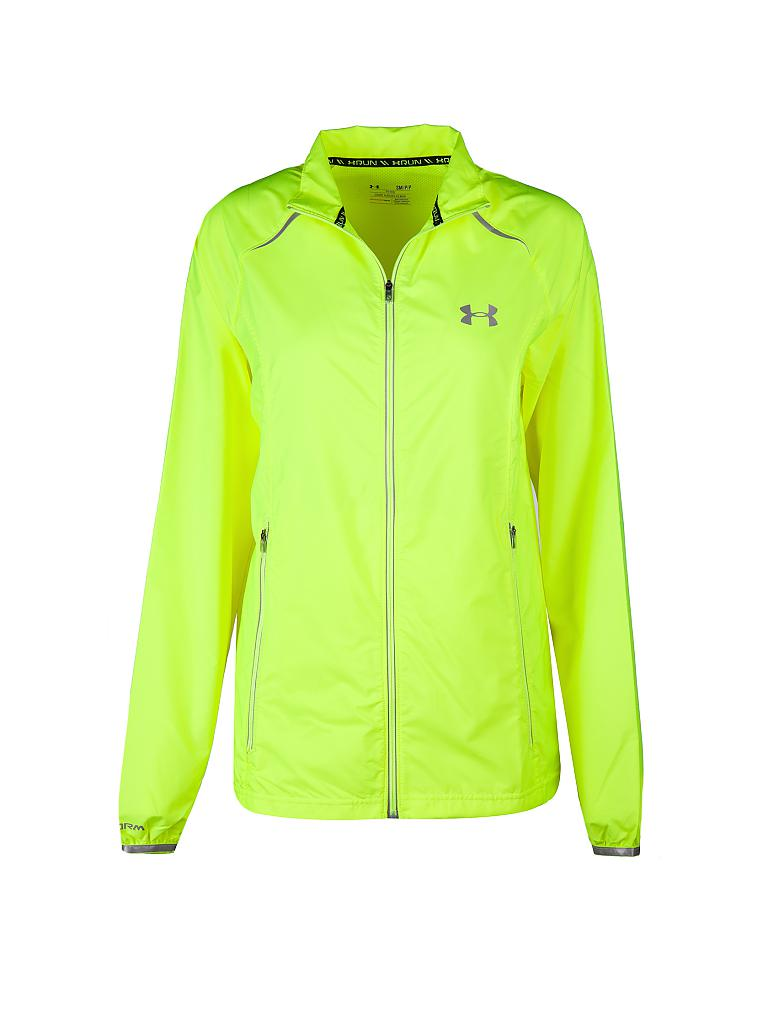 UNDER ARMOUR | Herren Laufjacke Storm Launch Run | gelb