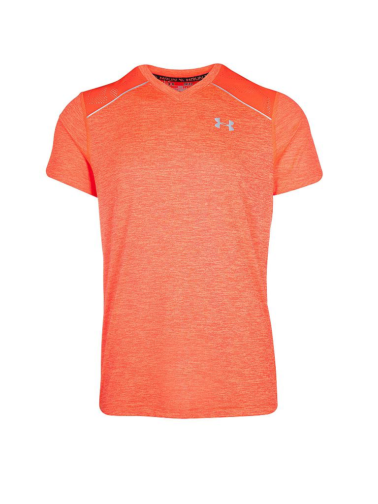 UNDER ARMOUR | Herren Laufshirt Heatgear Amourvent | orange