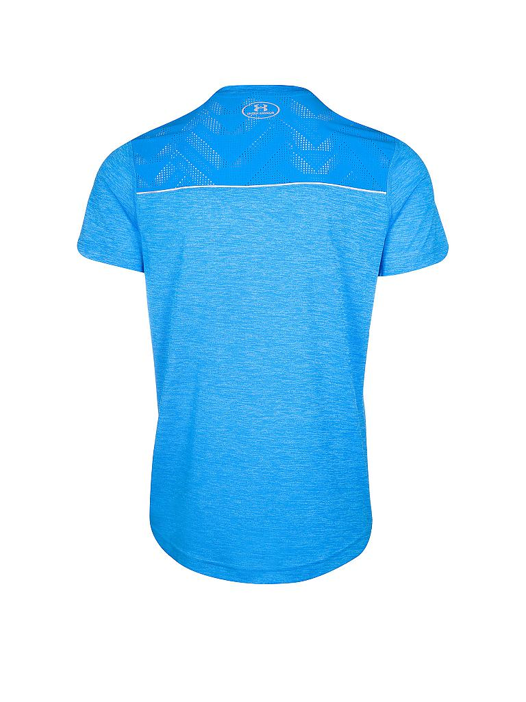 UNDER ARMOUR | Herren Laufshirt Heatgear Amourvent | blau