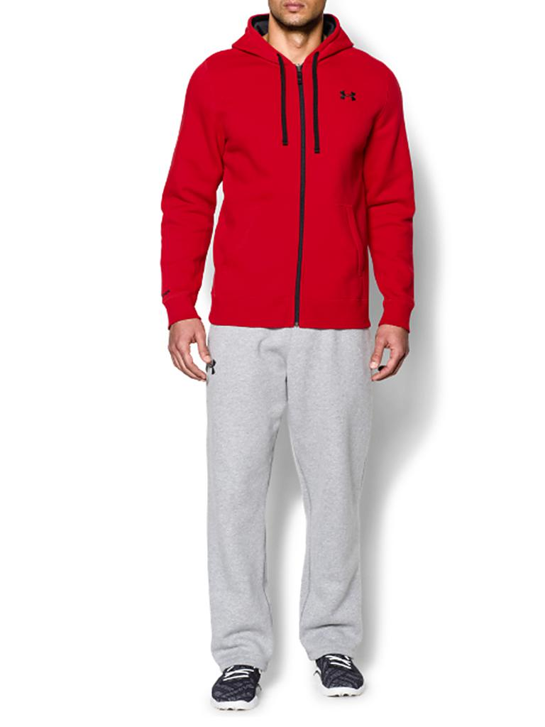 UNDER ARMOUR | Herren Sweatjacke | rot