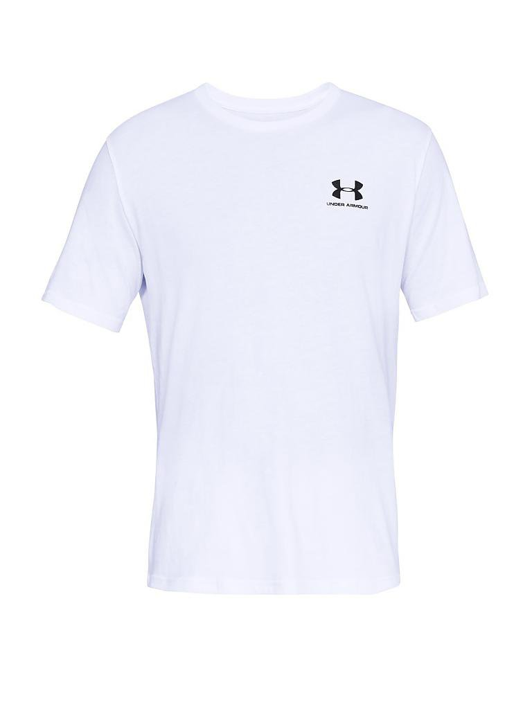 54aee054aacc5 UNDER ARMOUR Herren T-Shirt UA Sportstyle weiß