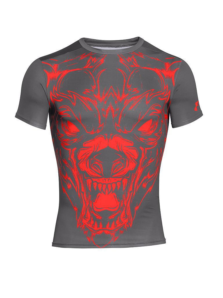 UNDER ARMOUR | Herren Trainings-Shirt Alter Ego Compr. | grau