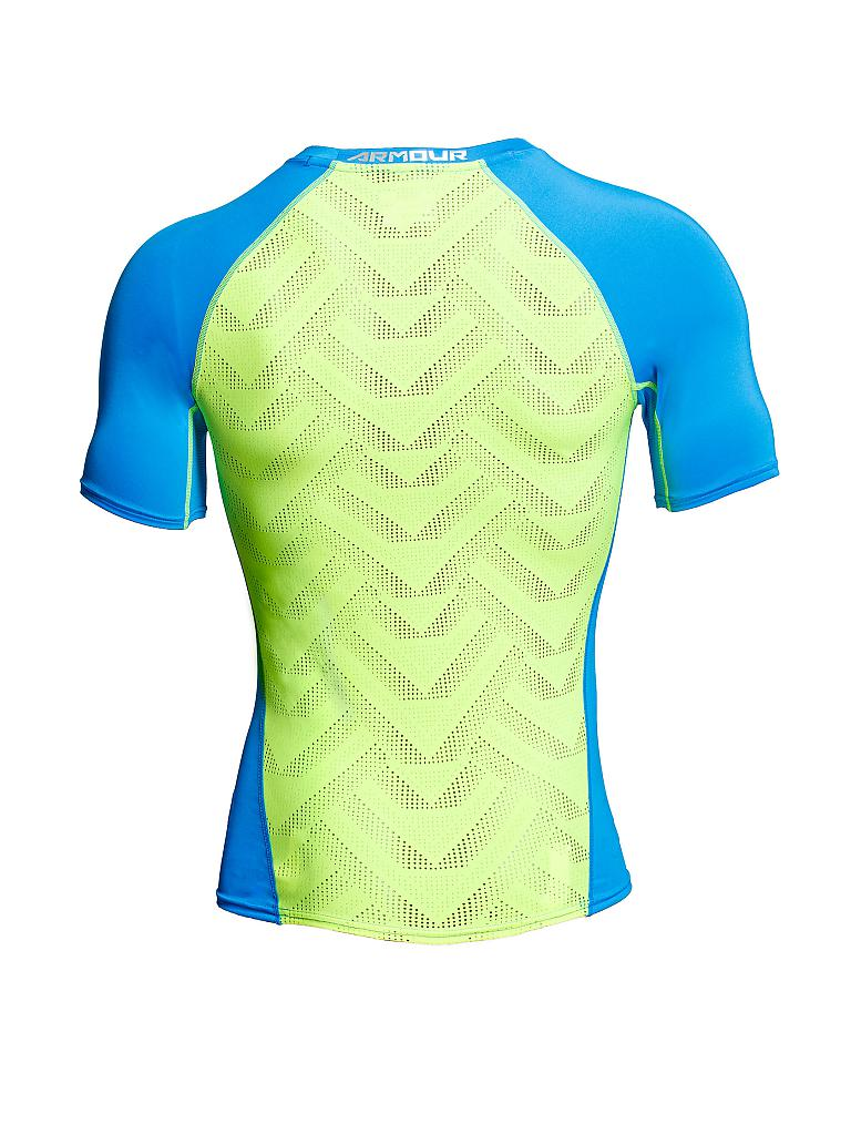 UNDER ARMOUR | Herren Trainings-Shirt Compression | blau