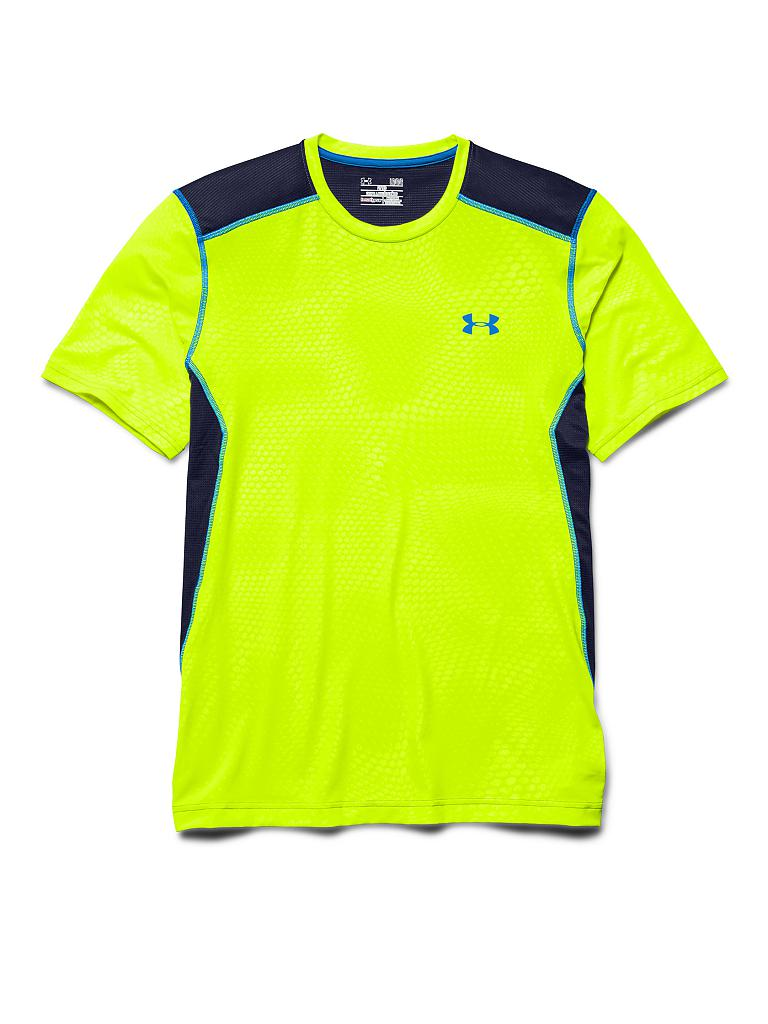 UNDER ARMOUR | Herren Trainings-Shirt Raid | gelb