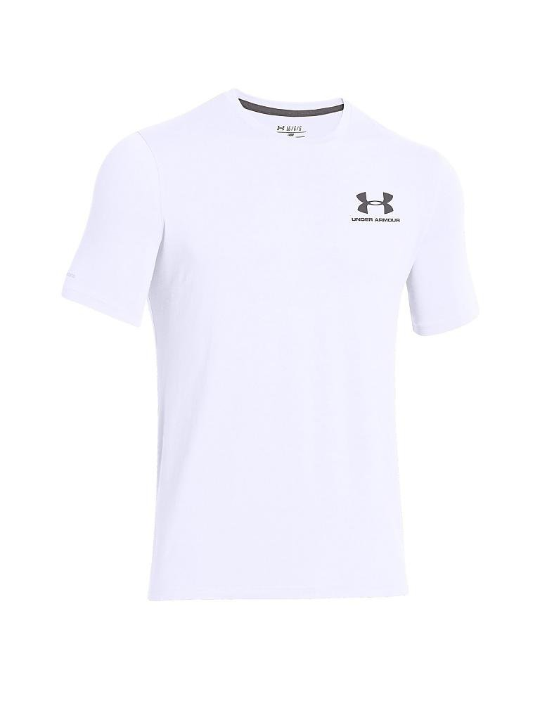 UNDER ARMOUR | Herren Trainings-Shirt Sportstyle Left | weiß