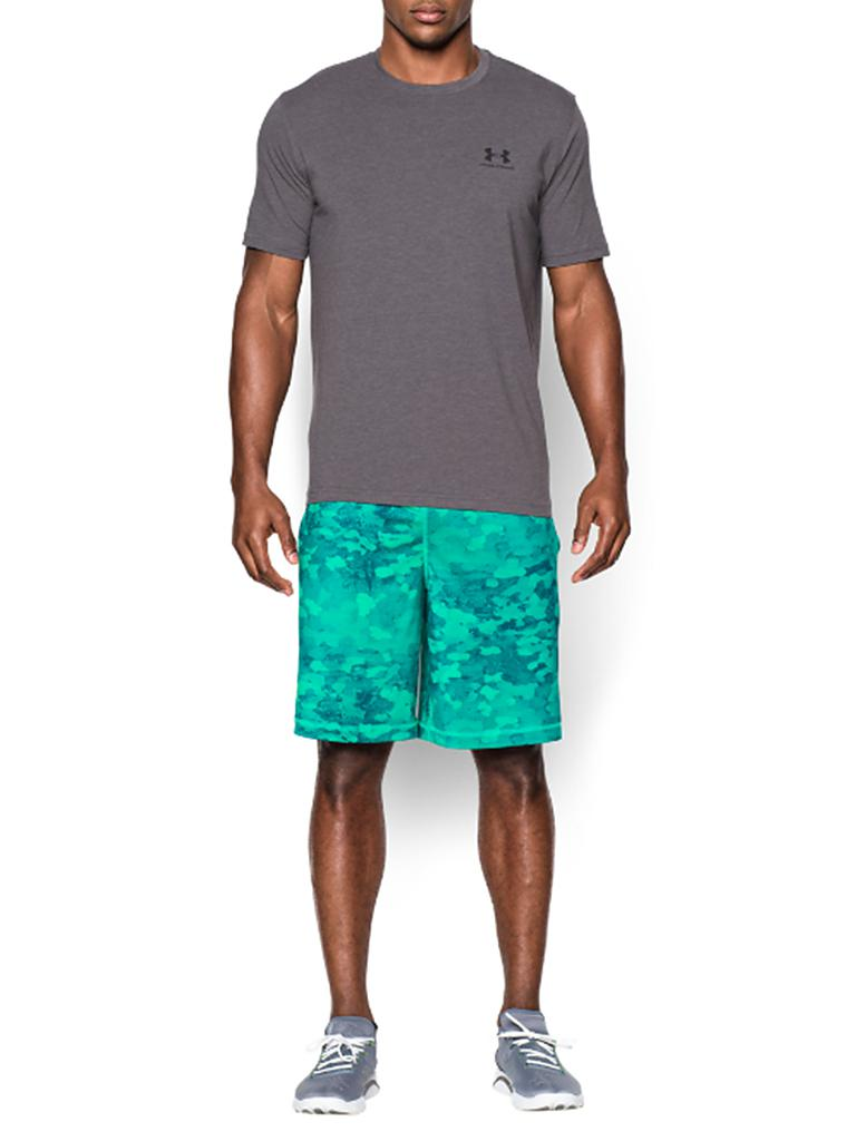 UNDER ARMOUR | Herren Trainings-Shirt Sportstyle Left | grau