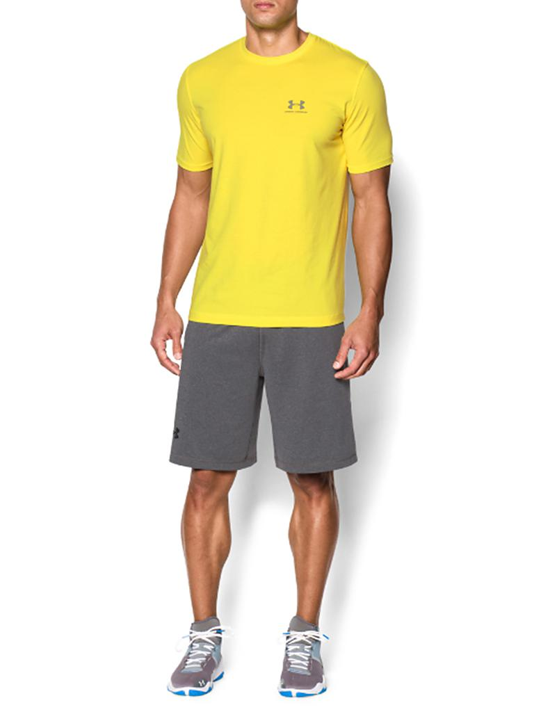 UNDER ARMOUR | Herren Trainings-Shirt Sportstyle Left | gelb