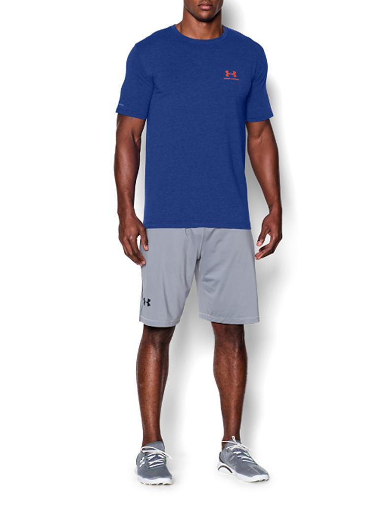 UNDER ARMOUR | Herren Trainings-Shirt Sportstyle Left | blau