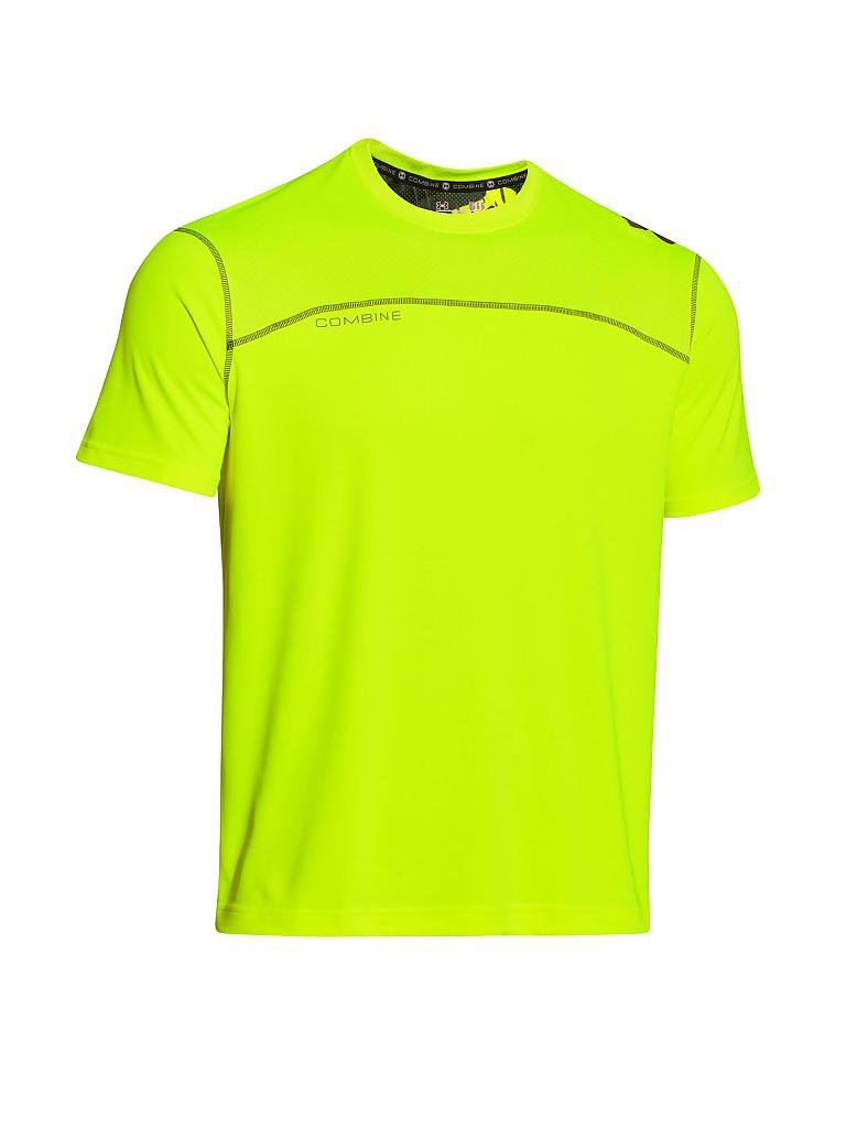UNDER ARMOUR | Herren Trainings-Shirt | gelb