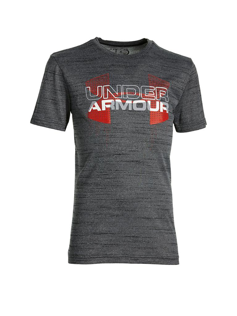 UNDER ARMOUR | Kinder T-Shirt Logo | grau